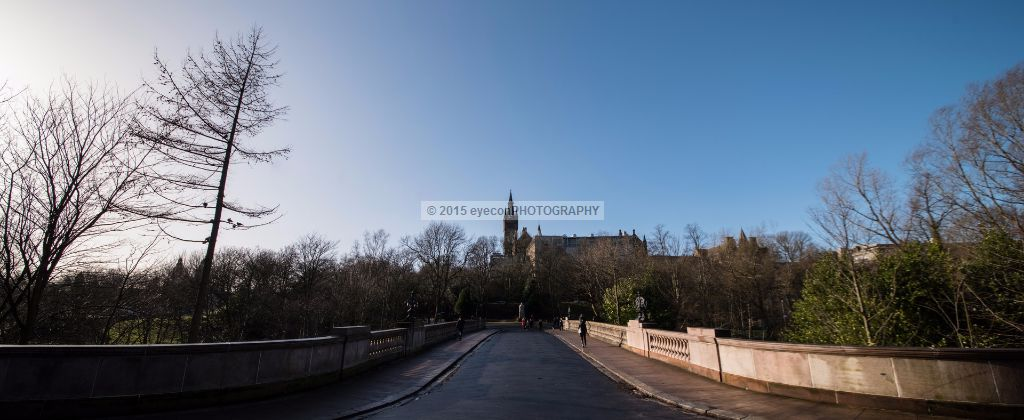 Kelvin Park to Glasgow University
