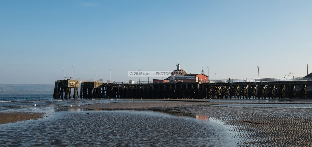 Low tide at Dunoon Pier