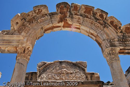 Hadrians's Gate, Ephesus