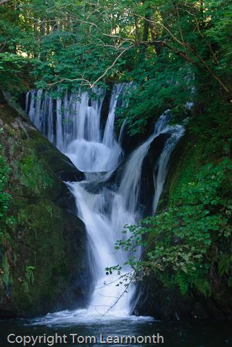 Dyfi Furnace Waterfall