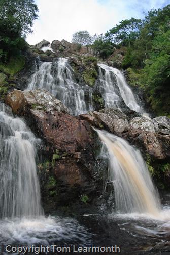 Waterfalls above Llyn Efyrnwy