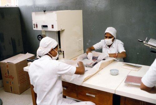 Gonoshastaya Kendra, Pharmaceutical factory