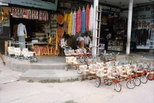 Children's rickshaws
