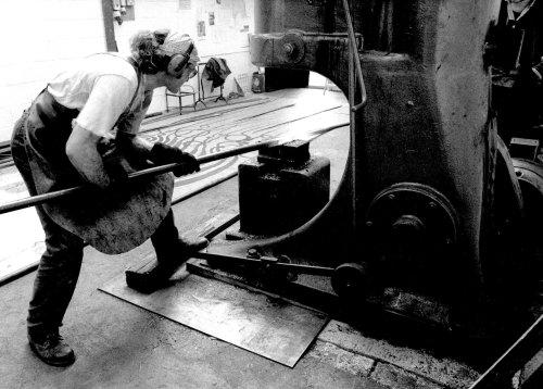 David Petersen, artist blacksmith