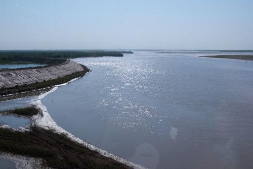 Amu Darya river (Oxus to the Greeks)
