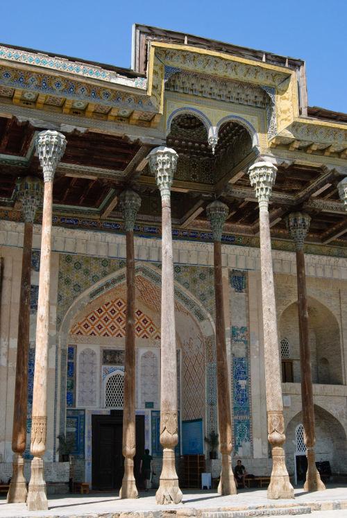 Bukhara, Bolo Hauz Mosque