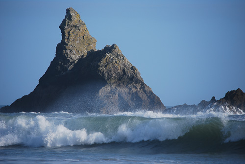 Church Rock, Broad Haven South, Pembrokeshire