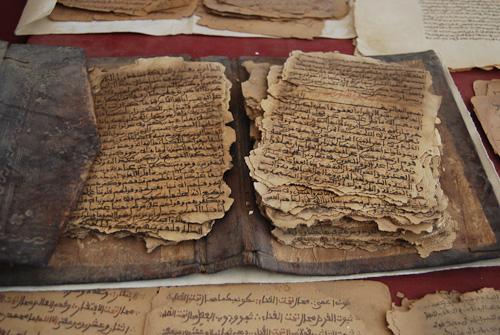 Ancient manuscripts in Timbuktu, Mali