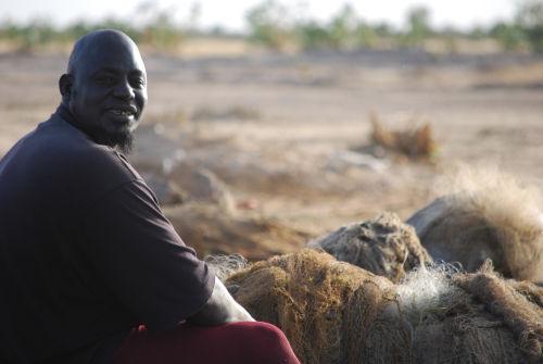 Fisherman, Niger River