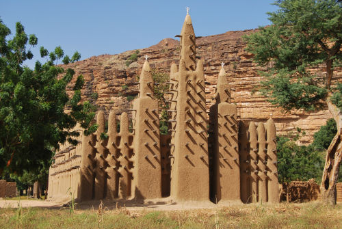 Mosque in Dogon village