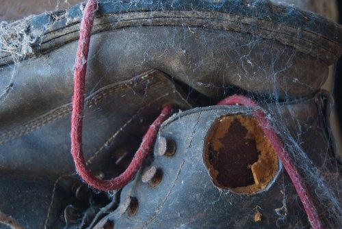 Dad's boots, Bryn Rhwydd 2012