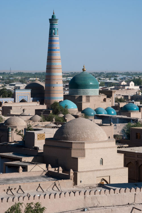 Khiva from watchtower