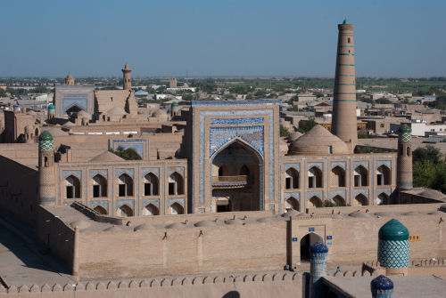 Khiva, from the watchtower