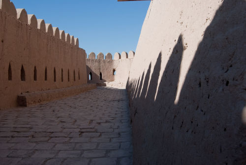 Khiva, Town Walls