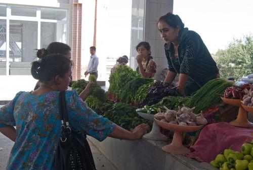 Samarkand, Siob Bazaar
