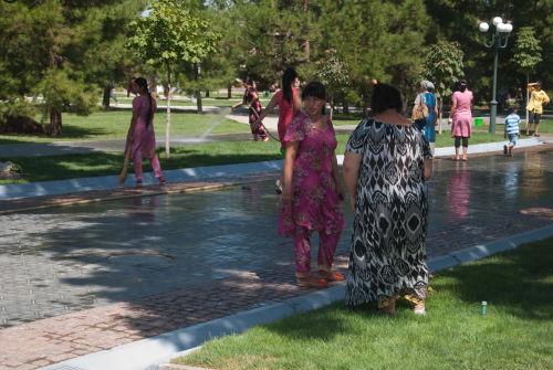 Samarkand, Navoi Park