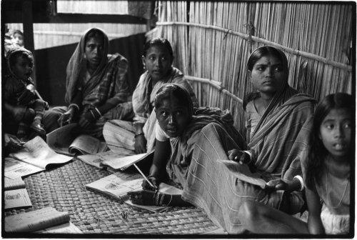 Kathira, Western Bangladesh, literacy class