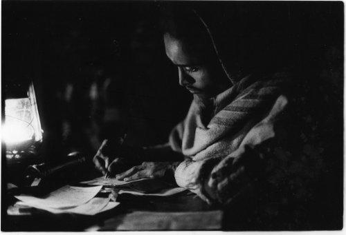 Night literacy class, Western Bangladesh