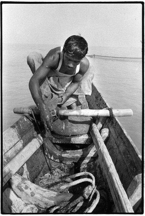 Sandwip island, Bangladesh fisherman