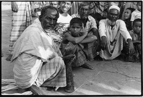 Sandwip island, Bangladesh, landless farmers group