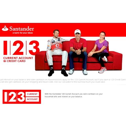 Santander 123 Account | Engine