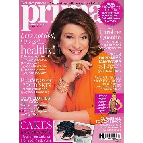 Caroline Quentin for PRIMA