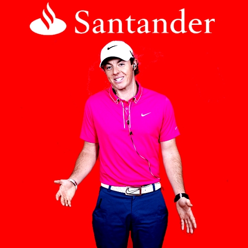 Rory Mcilroy for Santander | Engine