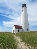Awarded the Club Cup, Nantucket Lighthouse by Ken Bryan