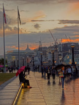 1st  South Bank Twilight  by Andrew Herbert