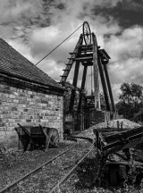 3rd The Old Pithead Gear by Martin Ridout LRPS