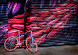 4th The Red and Blue Bike by Martin Ridout LRPS