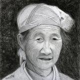 Chinese Putzehei woman portrait