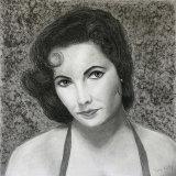 Elizabeth Taylor portrait