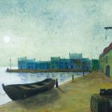 Fiddler Quay - painting