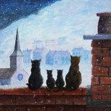 Snowfall - painting