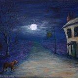 Spooky Highway Inn - painting