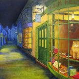 Tarragon Alley - painting