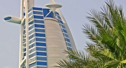 Burj Al Arab Abstract