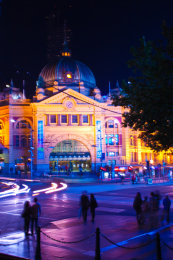 Flinders Street Lights