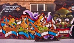 Toronto graffiti image 1