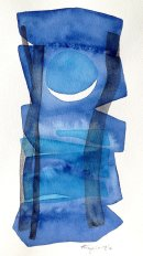 Bajan-III, watercolour: SOLD