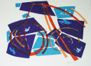 Libra (Blue) : lithograph printed at Curwen Studio: 56*76cm :edition of 20