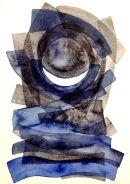 Celesta-I (Luna), watercolour: SOLD