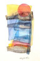 Mediterra-IV, watercolour: SOLD