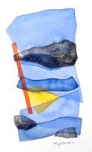 Mediterra-VIII, watercolour