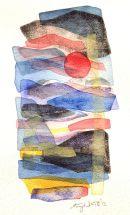 Mediterra-V, watercolour