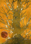 Sun-tree: photopolymer relief/intaglio: unique