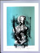 Venus de Bianco : screenprint / direct transfer drawing SOLD