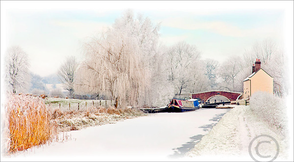 Frozen Canal Milford 1