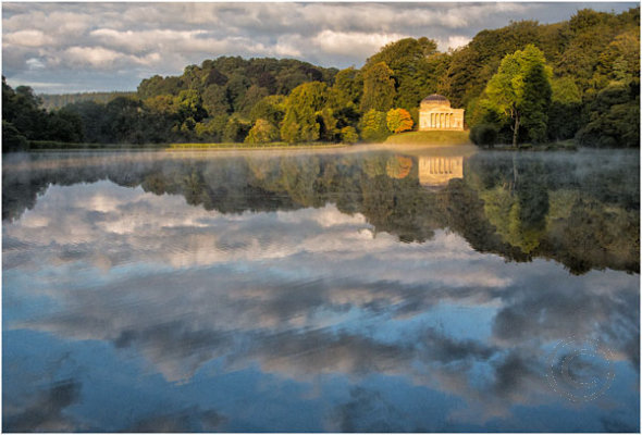 Across the Lake at Stourhead